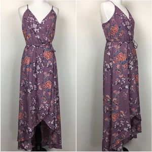 Purple Soprano Wrap Dress